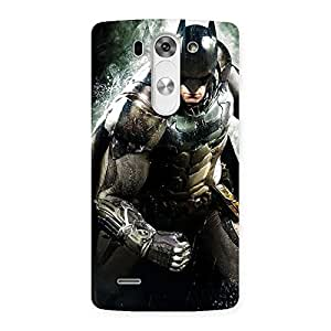 Delighted Knight Thrash Multicolor Back Case Cover for LG G3 Beat