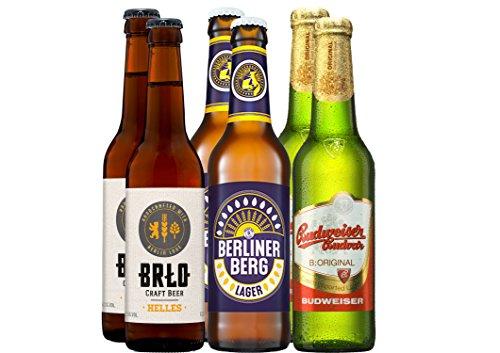 Bier Grill-Paket Maiskolben 6 x 0,33 l.