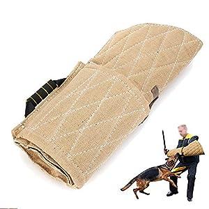 YMJJ Dog Sleeves Chien Dressage Bras de Morsure Arm Protectio pour Dog Puppy Work Dog Training