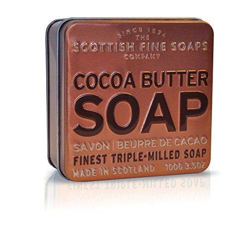 Scottish Fine Soaps in a Tin Collection - Cocoa Butter 100g 3.5oz by Scottish Fine Soap