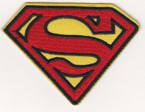 Parche tela logo Superman planchar/coser