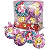 Princesas - Disney Juego de 4 bolas de navidad - 6499