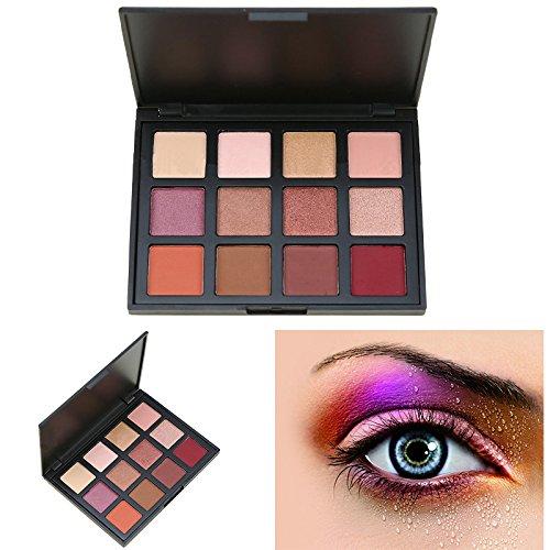 Cosmeticos Maquillaje Paleta Sombras Ojos