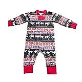 EisEyen Ugly Weihnachten Pyjama Familie Pyjamas Set Elch Drucken Baumwolle Lange Ärmel Schlafanzüge Kleider Nachtwäsche Outfits