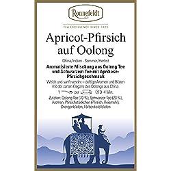 Ronnefeldt - Apricot-Pfirsich auf Oolong - Aromatisierter Schwarzer Tee - 100g