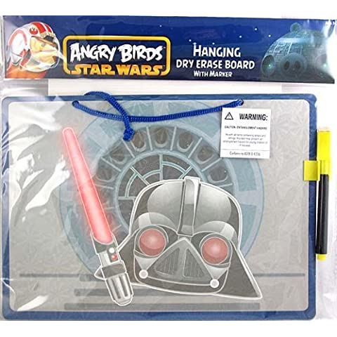 Star Wars Angry Birds Darth Vader Hanging Dry Erase Board 11 inches by Innovative Designs