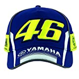VR46 Valentino Rossi Casquette Moto GP M1 Yamaha Racing Team 2017 pour Homme Bleu...