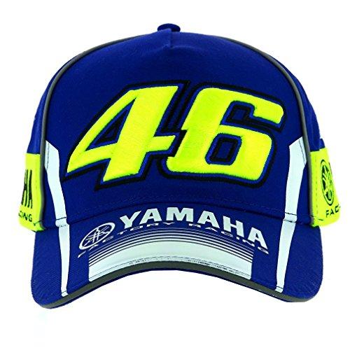 VR46 Herren Valentino Rossi Moto GP M1 Yamaha Racing Team 2017 Cap, Blau, One Size