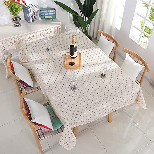 HCBR Moderne haushalts tischdecke, schmutzig, rutschfeste tischdecke, einfache, frische, dekorative Restaurant Tuch tischdecke F 140 * 160 cm