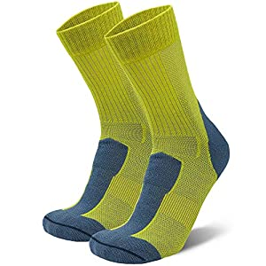 Calcetines Ligeros de Senderismo y Trekking de Lana Merina, para Hombre y Mujer, Térmicos, Transpirables, Acolchados y… 7