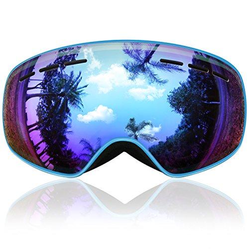Gafas de Esquí Niños, eDriveTech Máscara Gafas Esqui Snowboard Niev