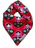 JNY Colourful Kids ♥ Baby Mädchen/Jungen Halstuch ♥ Verschiedene Designs zur Auswahl (Matroschka auf rot)