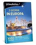 Wonderbox - Cofanetto Regalo per Natale - Europa - 3 Giorni in Europa - 1680 SOGGIORNI per 2 Persone in Italia E in Europa