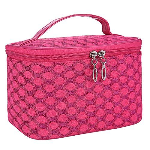 koly-women-toiletry-travel-zipper-makeup-cosmetic-bag-organizer-portable-handbag-hot-pink
