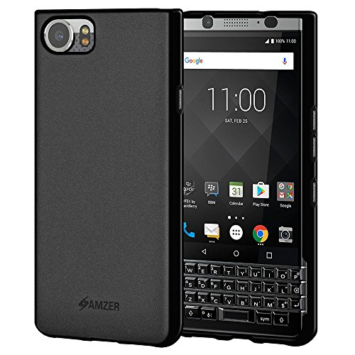 Amzer BlackBerry KEY one Soft Case Protective Back Cover For BlackBerry KEY one