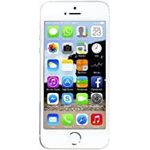 "Apple iPhone 5s 32GB - Smartphone libre (101.6 mm (4 ""), 1136 x 640 pixeles, Color Plata (Reacondicionado Certificado)"