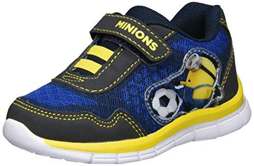 MINIONS De002383, chaussons d'intérieur garçon Blau (NAVY/C.BLUE 086)