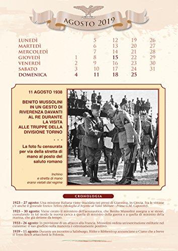 Calendario Mussolini 2020.Calendario Storico Mussolini 2019