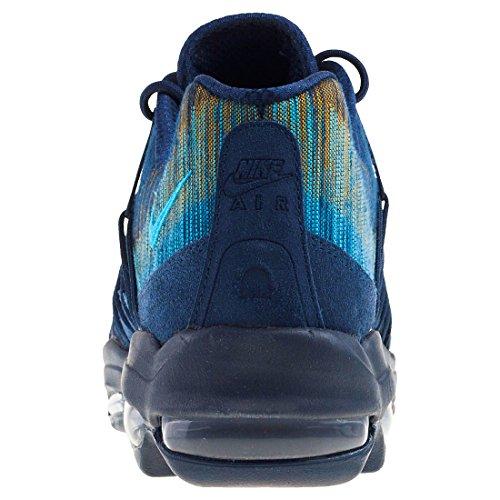 Nike Chaussures Unisexe Air Max 95 Ultra Jacquard en Tissu Bleu 749771-402 Obsidian