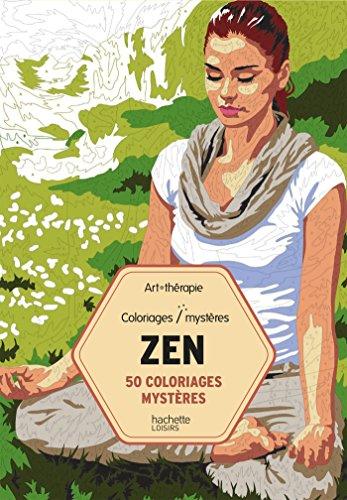 50 coloriages mystères Zen