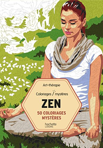 50 coloriages mystres Zen