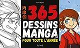 365 dessins manga pour toute l'année...