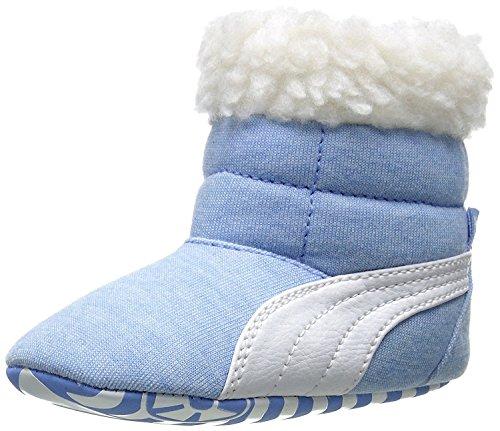 Puma Kinder Baby Jungen Baby Stiefel Fell (Kleinkind / Kleinkind) Little Boy Blau / Wei? Schuhe (Schuhe Puma Kleinkind)