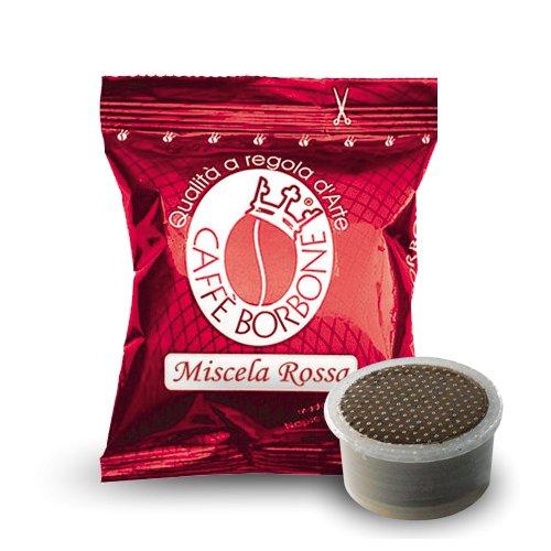 200 capsule borbone miscela rosso compatibili espresso point