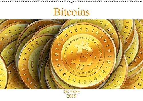 Bitcoins (Wandkalender 2019 DIN A2 quer): Schöne Bitcoin Grafiken als praktischer Wandkalender (Monatskalender, 14 Seiten ) (CALVENDO Technologie) (Bitcoin-technologie)