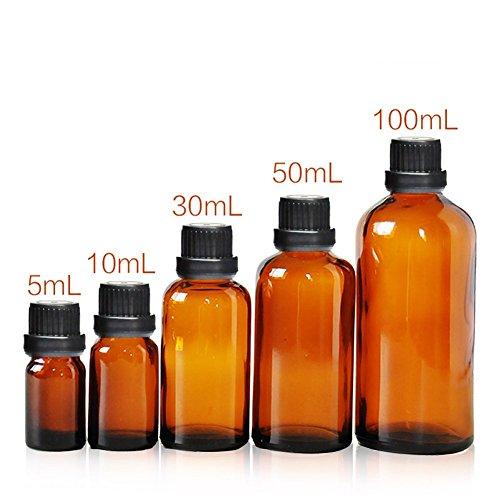 4pcs-5-ml-10-ml-30-ml-50-ml-100ml-vacio-reutilizable-botella-de-maquillaje-vial-de-vidrio-ambar-tarr