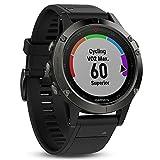 Garmin fēnix 5 GPS-Multisport-Smartwatch - 24/7 Herzfrequenzmessung am Handgelenk, zahlreiche Sport- & Navigationsfunktionen, 1,2 Zoll (3cm) Farbdisplay - 5