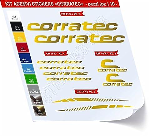 Velo Corratec - Stickers vélo corratec Kit stickers 10pièces–Choisir immédiatement