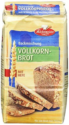 Bielmeier-Küchenmeister Brotbackmischung Vollkornbrot,...