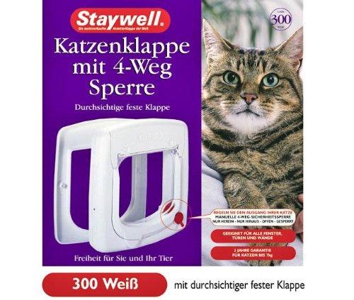 STAYWELL 300, Katzenklappe - Weiß