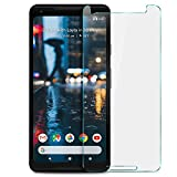 Google Pixel 2 Screen protector, KuGi 9H Hardness HD clear Tempered Glass Screen Protector for Google Pixel 2 smartphone(Clear)