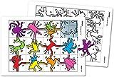 Puzzle A la manière de. Keith Haring Tous niveaux