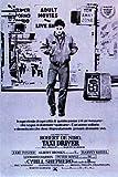 Taxi Driver-italien Classique Grande affiche PaPIER-POSTER-Dimensions 100 x 70 cm (aproximately Greatest Films Collection dirigée Par Martin Scorsese. mettant Robert De Niro, Jodie Foster, Albert Brooks....