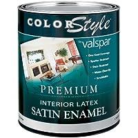 valspar marchio 1Quart Base Trasparente ColorStyle interno in lattice smalto satinato da parete Pa