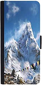 Snoogg Everest Climb Designer Protective Flip Case Cover For Lg G2