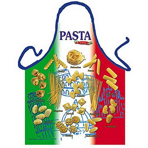 ß-Grill/Kochschürze/ Thema Italien/Nudeln: Pasta-Tricolore - inkl. Spaß-Urkunde ()