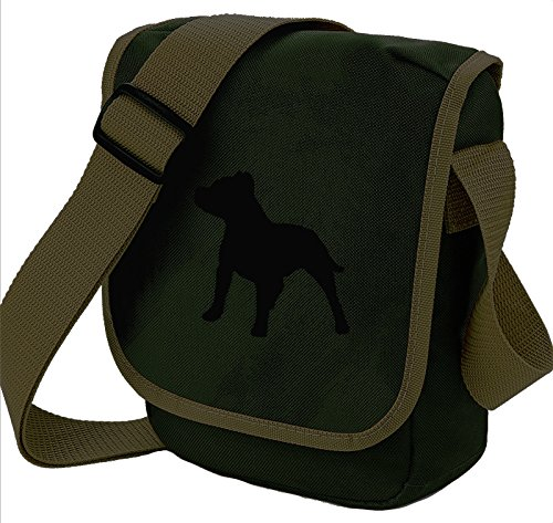 Bag Pixie, Borsa a spalla donna Black Dog on Olive