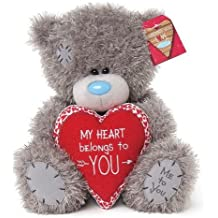 peluche ours me to you heart belongs 23 cm