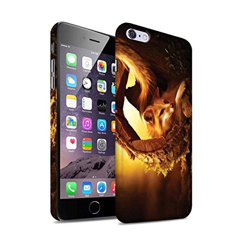 Officiel Elena Dudina Coque / Clipser Matte Etui pour Apple iPhone 6S+/Plus / Le Calin/Chiot/Chien Design / Les Animaux Collection Jacinthe