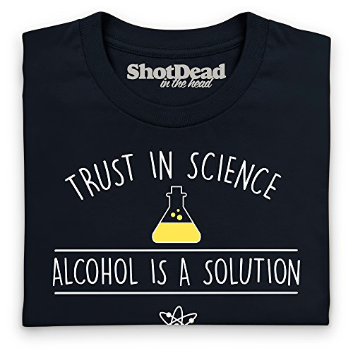 Trust In Science T-Shirt, Damen Schwarz