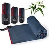 Outdoro Mikrofaser-Handtuch Reisehandtuch Ultra-leicht - Ideales Sport-Handtuch, Badetuch, Strand-Handtuch, Towel