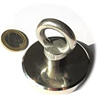 5eaf2cc328c Super Imán de neodimio otn-63-inox Potencia 110 kg con práctico Ojal de