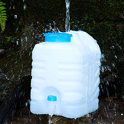 Elementral BPA-freie Kunststoff-Eimer Outdoor Sports Water Storage Sportflasche - Kann In Den Kofferraum Für Camping -15L / 3,96 US Gallonen / 3,30 Britische Gallonen Gelegt Werden -