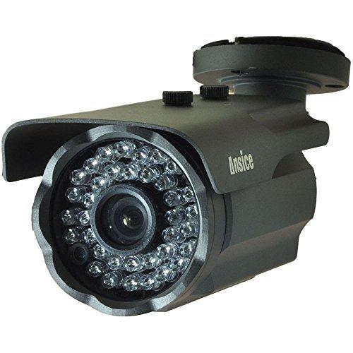 Cámara de seguridad CCTV tipo bala negro