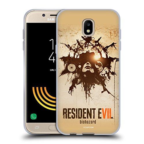 Head Case Designs Offizielle Resident Evil Talisman Poster Spiel 7 Schlüssel Kunst Soft Gel Hülle für Samsung Galaxy J5 (2017)