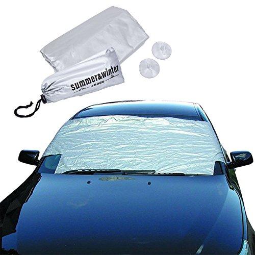 Preisvergleich Produktbild Profex Frontscheiben Schutz 200 x 66 cm alubedampft Gummispanner